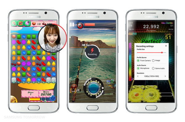 Samsungin uutuussovellus Galaxyille: Tallenna pelihetkesi videolle