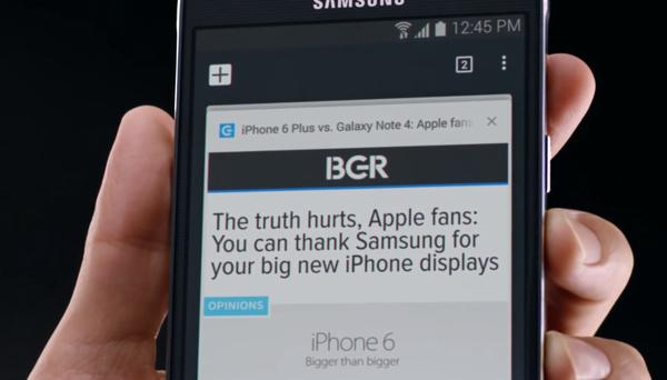 Samsung kuittailee Applelle: Kuka nyt kopioi ja ketä?