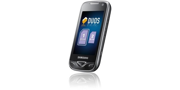 Samsung B7722 -kaksois-SIM-puhelin Suomeen