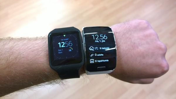 Vertailussa Samsung Gear S ja Sony SmartWatch 3 – kumpi kannattaa ostaa?