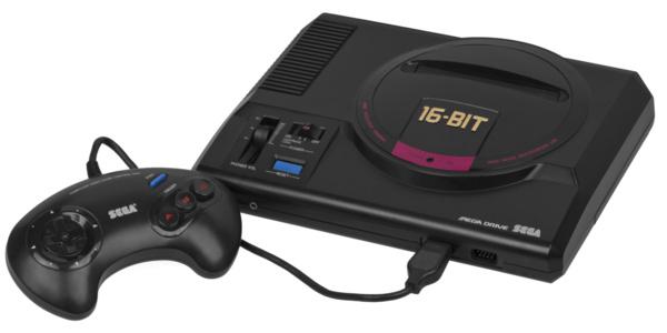 Nostalgisia pelikoneita vyöryy markkinoille – Tänä vuonna julkaistaan Segan Mega Drive