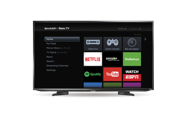 New Sharp LED TVs launch with Roku TV OS