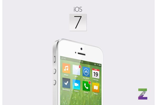 Videolla: mainostoimiston konsepti hahmottelee litteämpää ulkoasua Applen iOS-järjestelmään