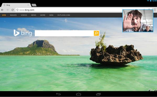 Skype-puhelut toimivat Android-puhelimissakin taustalla