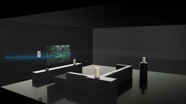 Sony julkaisi neljän kaiuttimen kotiteatterijärjestelmän, joka täyttää huoneen 360 asteen tilaäänellä