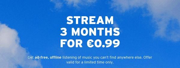 SoundCloud Go+ -tilauksen saa nyt kolmeksi kuukaudeksi vain 0,99 eurolla