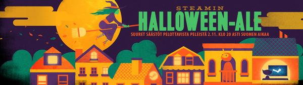 Steamin Halloween-ale käynnistyi – tarjouksessa lähes 2000 peliä