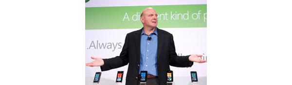 Microsoft: Ballmer ei luvannut Windows 8:a puhelimiin