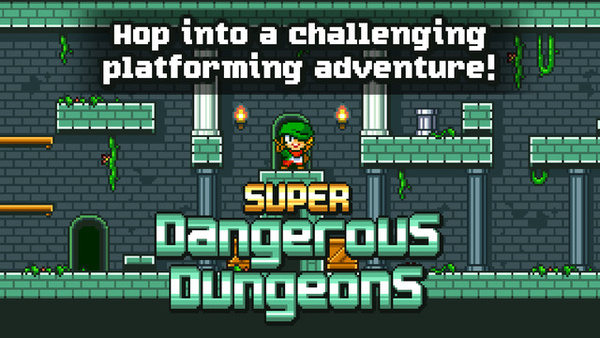 Kotimainen tasohyppely Super Dangerous Dungeons julkaistiin