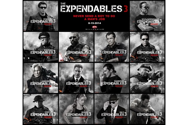Two arrested in pre-release leak of 'The Expendables 3'