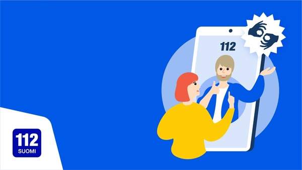 Hätäkeskuslaitos käynnistää kokeilun: hätäilmoituksen voi tehdä viittomakielellä 112 Suomi -sovelluksessa