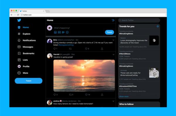 Älä hämmenny – Twitter uudisti ulkoasuaan