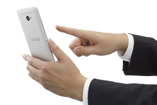 Here is VAIO's new Windows Phone flagship