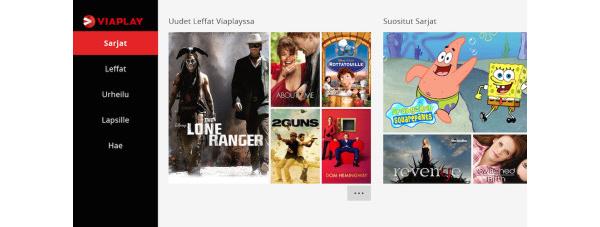 Viaplay-suoratoistopalvelu julkaistaan Xbox Onelle