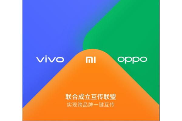 Xiaomi, Oppo ja Vivo lisäävät oman langattoman tiedostojen jakamisen mahdollistavan ominaisuuden laitteisiin