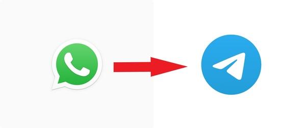 Miten siirtää WhatsAppin keskusteluhistoria Telegramiin?