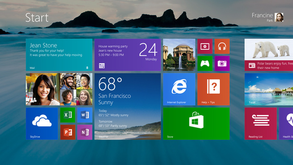 Microsoft julkaisi Windows 8.1 Preview'n