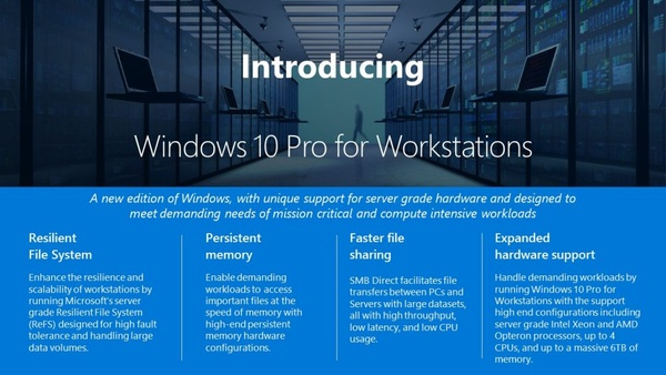 Microsoft announces a new edition of Windows 10 - aimed for real pro users