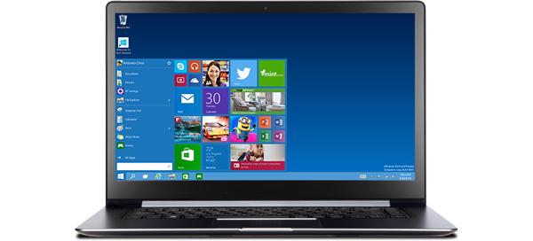 Microsoftin seuraava käyttöjärjestelmä on Windows 10