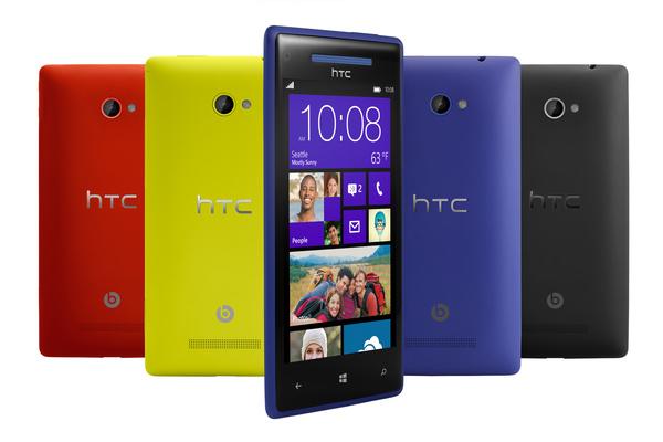HTC työskentelee tuodakseen Windows Phone 8.1:n 8X-mallilleen
