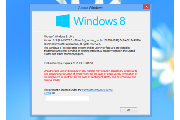 Windows 8 säilyy markkinoilla vielä pitkään, Blue on versio 8.1