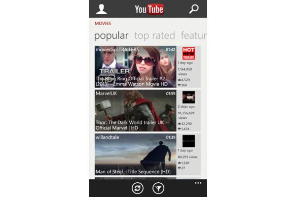 Windows Phone 8:n uusittu YouTube-sovellus toimii paremmin musiikkisoittimena