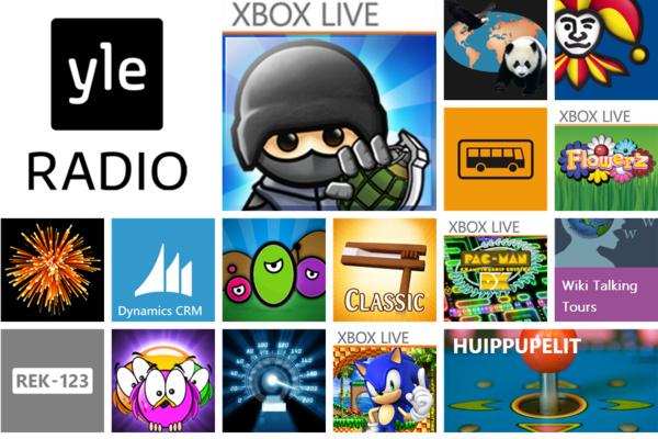 Windows Phonen sovellustarjonta yli kaksinkertaistui tänä vuonna