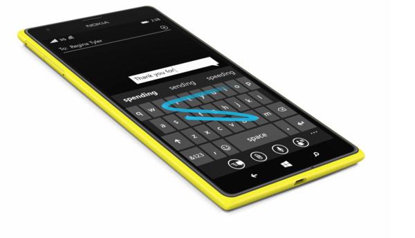 Lumia-puhelimien näppäimistö tulossa iPhonelle