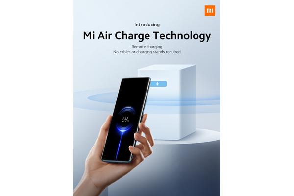 Xiaomi esitteli Mi Air Charge -latausteknologian, joka lataa akun muutaman metrin etäisyydeltä
