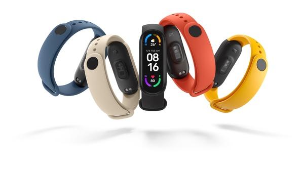 Xiaomin Mi Smart Band 6 -aktiivisuusranneke sisältää 1,56 kosketusnäytön ja monipuoliset terveysominaisuudet