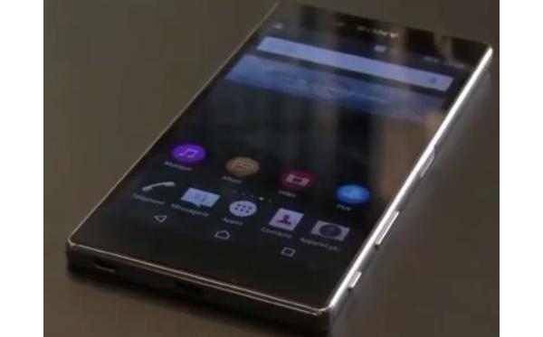 Video Sony Xperia Z5:stä vuoti nettiin