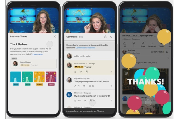 YouTube saa uuden tavan sisällöntuottajien tukemiseen