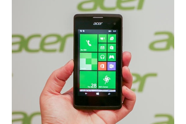 Acer releases budget Windows Phone for the masses