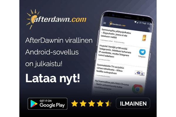 AfterDawnin Android-sovellus päivittyi - tumma teema ja bugikorjauksia