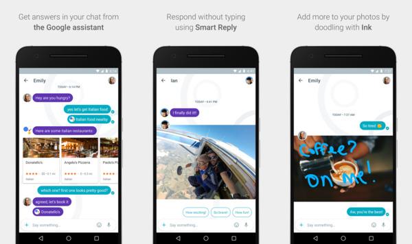 Google julkaisi WhatsAppille kilpailijan
