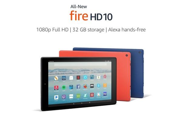 Amazon esitteli uuden Fire HD 10 -tabletin, hinta tippui yli kolmanneksen