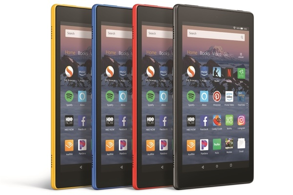 Amazon Fire HD 8 introduced with always-on Alexa