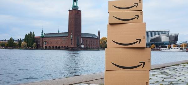 Amazon.se -verkkokauppa nyt avattu Ruotsissa