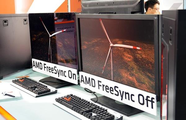 AMD listasi tulevat FreeSync-näytöt