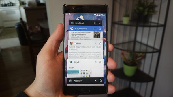 Kuinka suljen Android-sovelluksen?