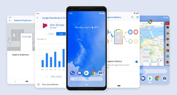 Android 9.0 Pie tarjoaa lovinäytöille lisähyötyä
