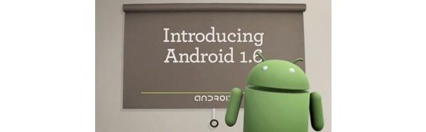 Googlen Androidin uusi 1.6-versio videolla