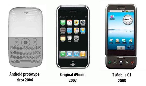 Dokumentit paljastavat: Androidin ei pitänyt tukea kosketusnäyttöä – iPhone muutti suunnitelmat