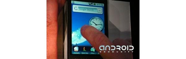 Google Android-alusta valmistuu