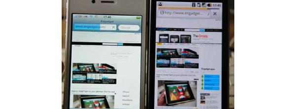 Videolla: Androidin ja iPhone 4:n uudet selaimet nopeusvertailussa