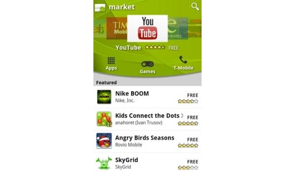 Android Market uudistuu lähipäivien aikana