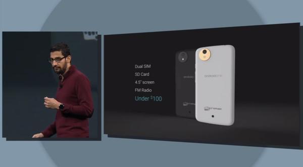 Google esittelee tänään ensimmäiset Android One -älypuhelimet