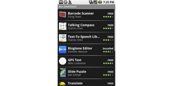 Googlen Android-puhelimillekin oma sovelluskauppansa