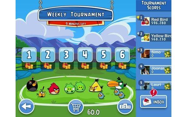 Angry Birdsistä tulee entistä sosiaalisempi