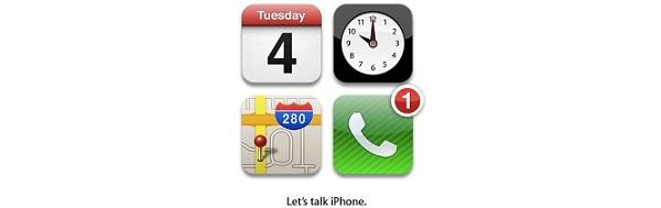 Apple järjestää iPhone-tilaisuuden 4. lokakuuta